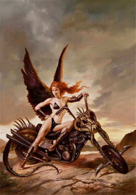 julie bell J-motorcycle-web